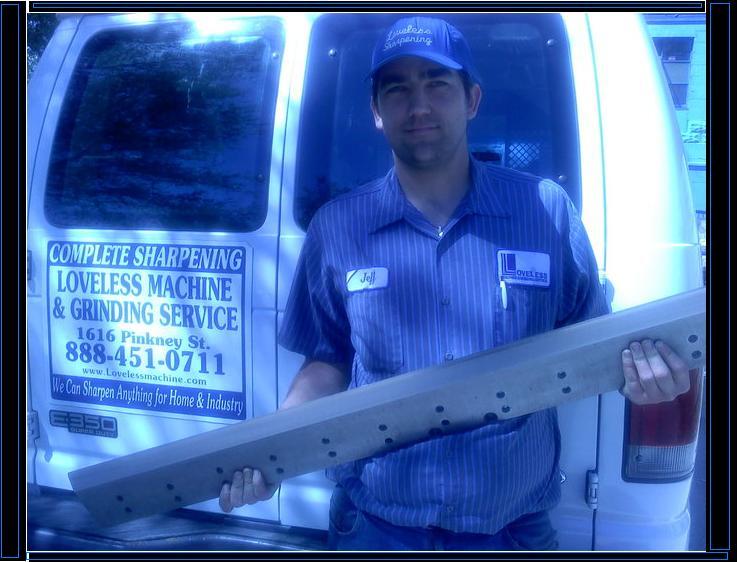 Saw Blade Sharpening Service Kansas City